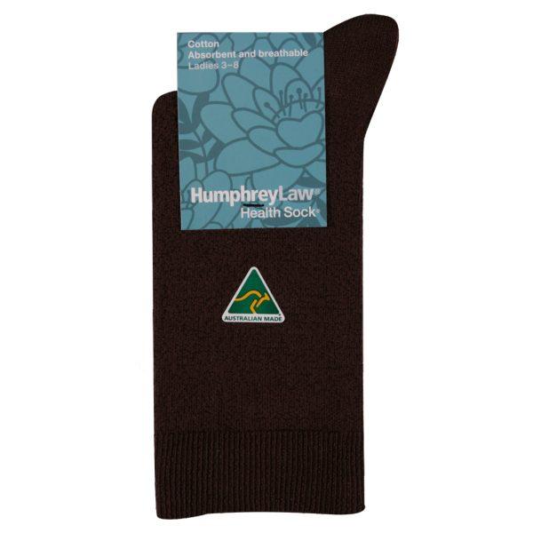 Sock – Ladies' 95% Mercersides Cotton Health Sock 50C